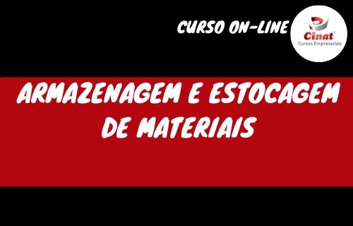 ARMAZENAGEM E ESTOCAGEM DE MATERIAIS